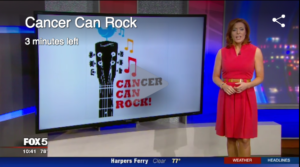 Cancer Can Rock on FOX News